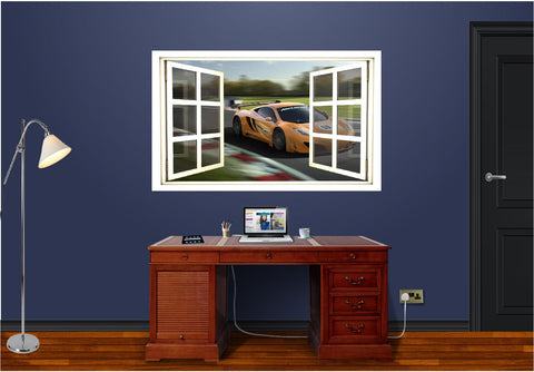 WindowScape Mclaren Racing Wall Decal!