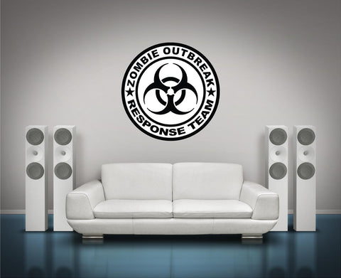 ::ZORT::  Zombie Outbreak Respnse Team Logo #1 Wall Decal