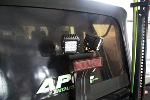 Jeep JK 3rd Brake Light LED light Mount
