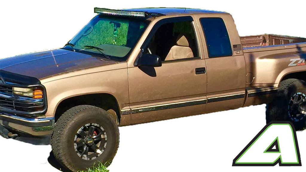 "2001 Dodge Ram 1500 For Sale >> 89-98 Chevy C/K Truck Apoc Roof mount for 52"" Curved led ..."