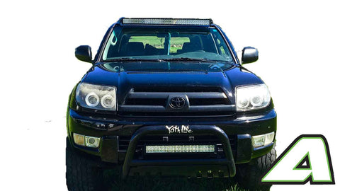 Toyota 4 runner led light bar roof mount for 42 curved 2002 2009 20022003200420052006200720082009 mozeypictures Image collections