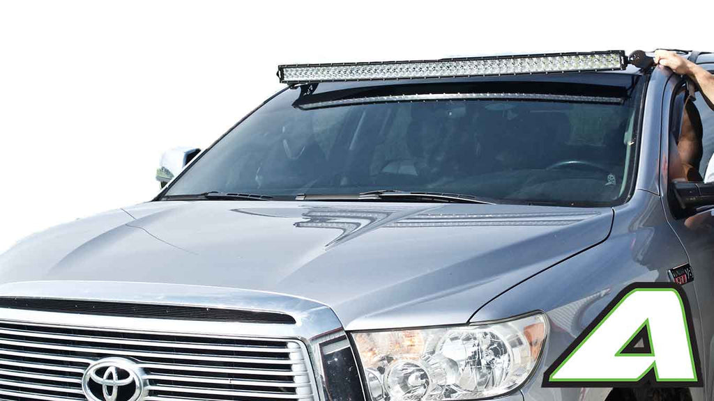 Toyota Tundra Led Light Bar Roof Mount For 52 Quot Curved 2007 2013 Apoc Industries