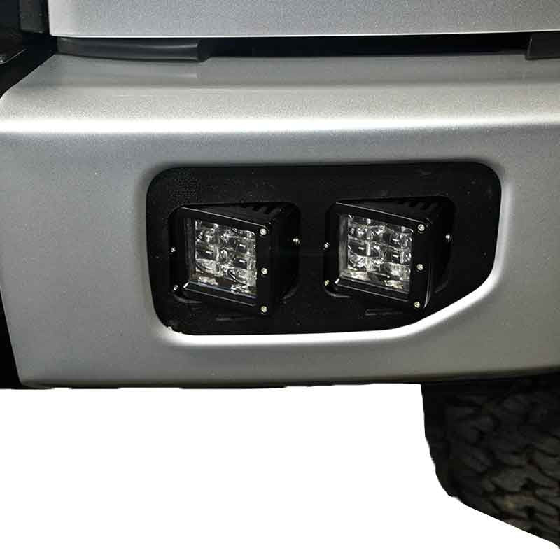 Ford F 150 Fog Light Led Cube Brackets 2015 2017 Apoc
