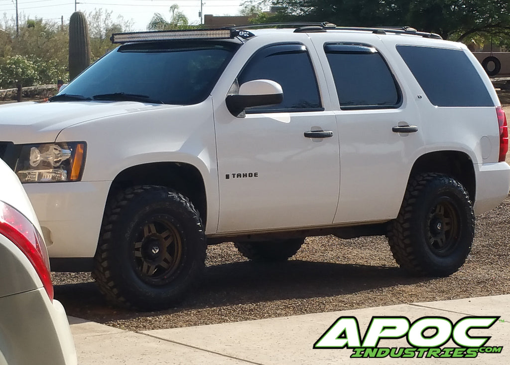 "2001 Dodge Ram 1500 >> 07-14 Chevy Tahoe Apoc Roof Mount for 52"" Curved Led Light Bar – Apoc Industries"