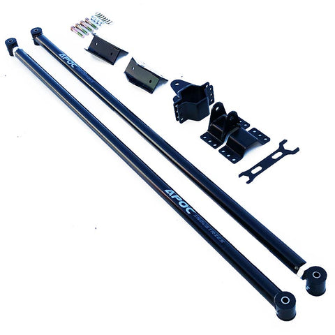 2001-06 Chevrolet Silverado / GMC Sierra 2500 Ladder / Traction Bars