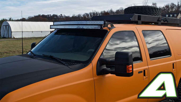 Double stack led light bar roof mounts ford excursion apoc industries aloadofball Images