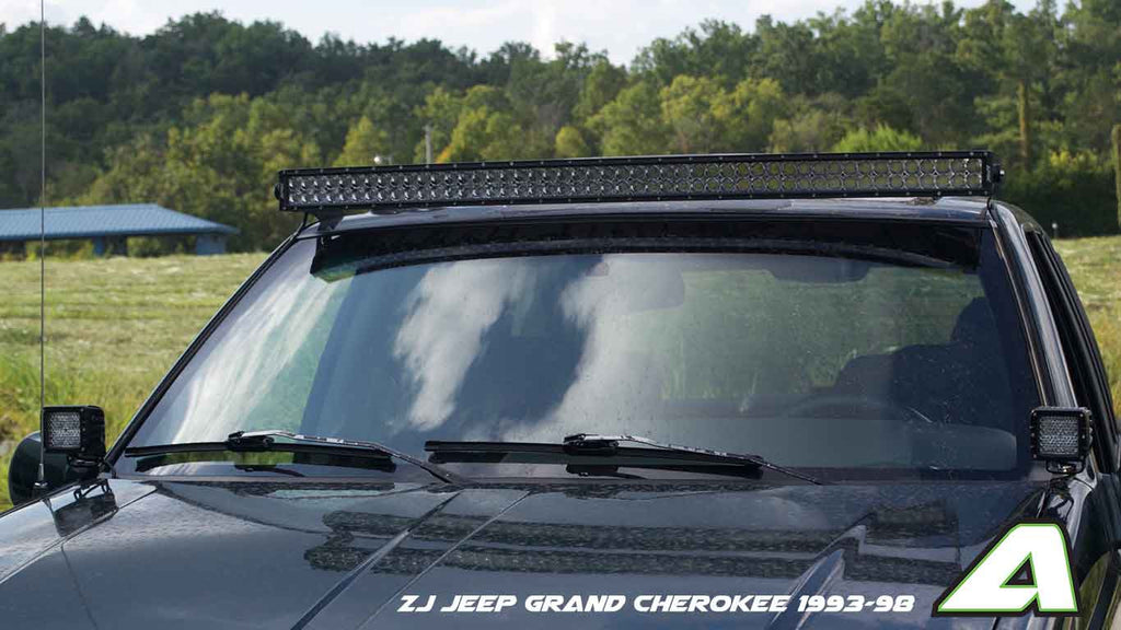 Zj jeep grand cherokee 93 98 apoc door mounts for 50 curved led zj jeep grand cherokee 93 98 apoc door mounts for 50 curved led light aloadofball Images