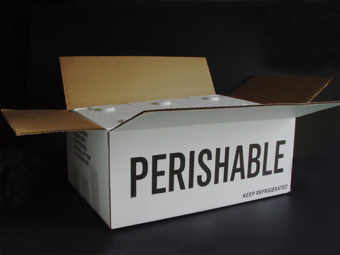 Perishable shipping box