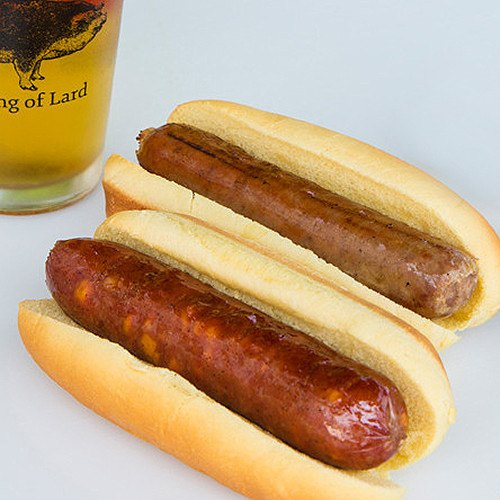 Hickory Smoked Bratwurst with Cheddar Cheese, 16oz - SOLEX CATSMO FINE FOODS
