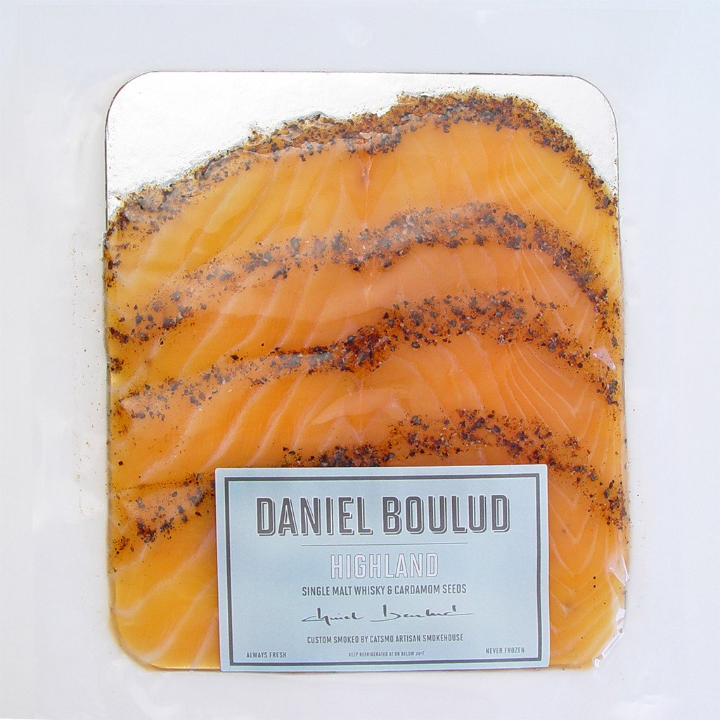 Daniel Boulud Epicerie Flavored Smoked Salmon HIGHLAND - SOLEX CATSMO FINE FOODS