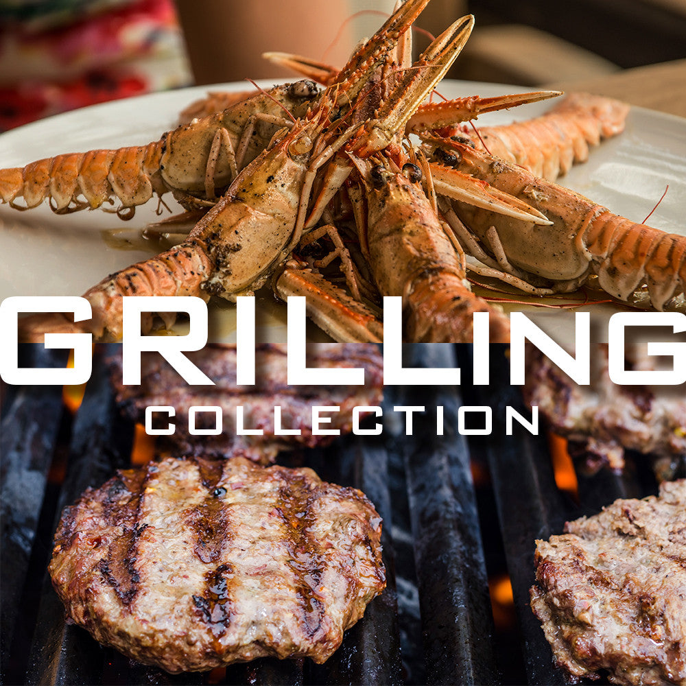 Grilling Collection: Langoustines & Heritage Pork Burgers