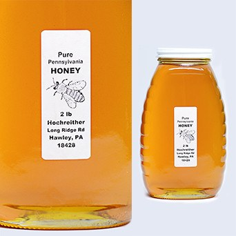 Lukan's Pure Wildflower Honey, 2lb - SOLEX CATSMO FINE FOODS