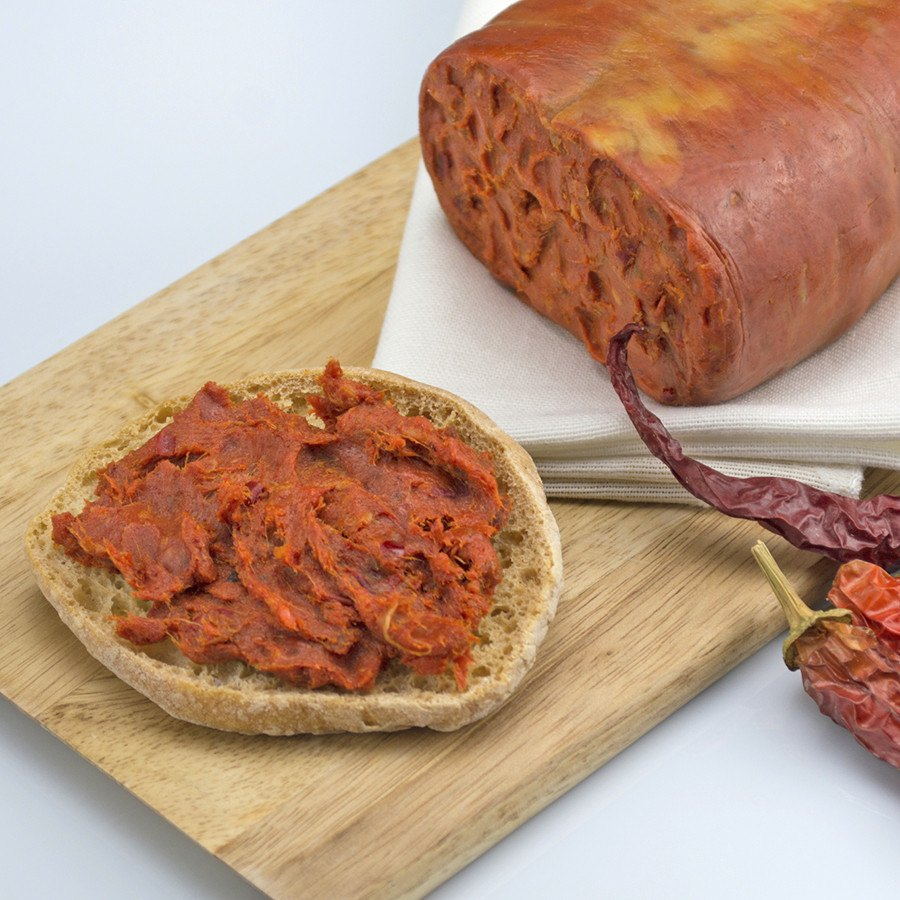 Nduja, spreadable salami - SOLEX CATSMO FINE FOODS