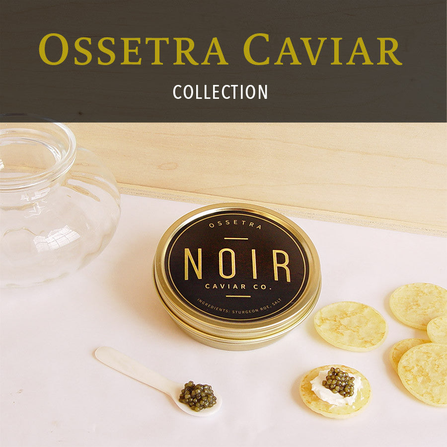 Ossetra Caviar Collection, 50g - SOLEX CATSMO FINE FOODS