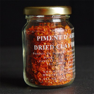 Piment d'Argile : Dried Clay Pepper, 50g - SOLEX CATSMO FINE FOODS