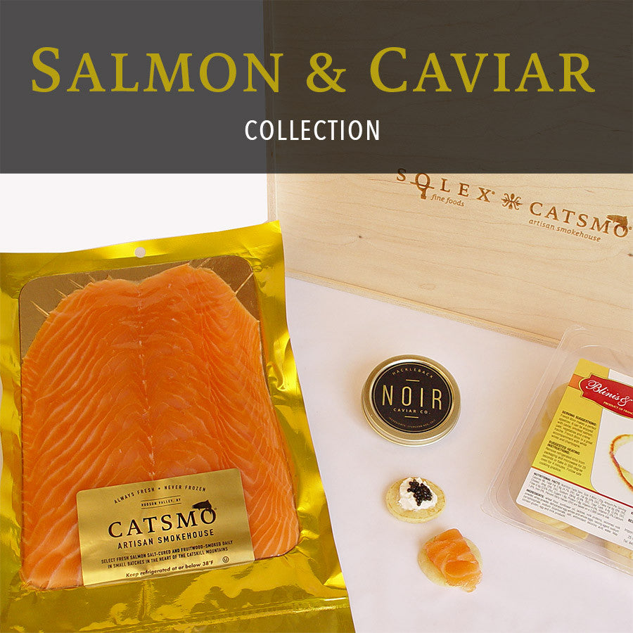 Smoked Salmon & Caviar Collection - SOLEX CATSMO FINE FOODS
