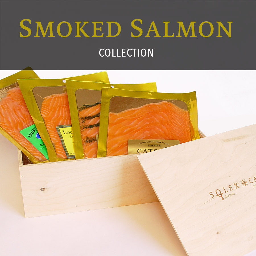 Catsmo Smoked Salmon Collection - SOLEX CATSMO FINE FOODS