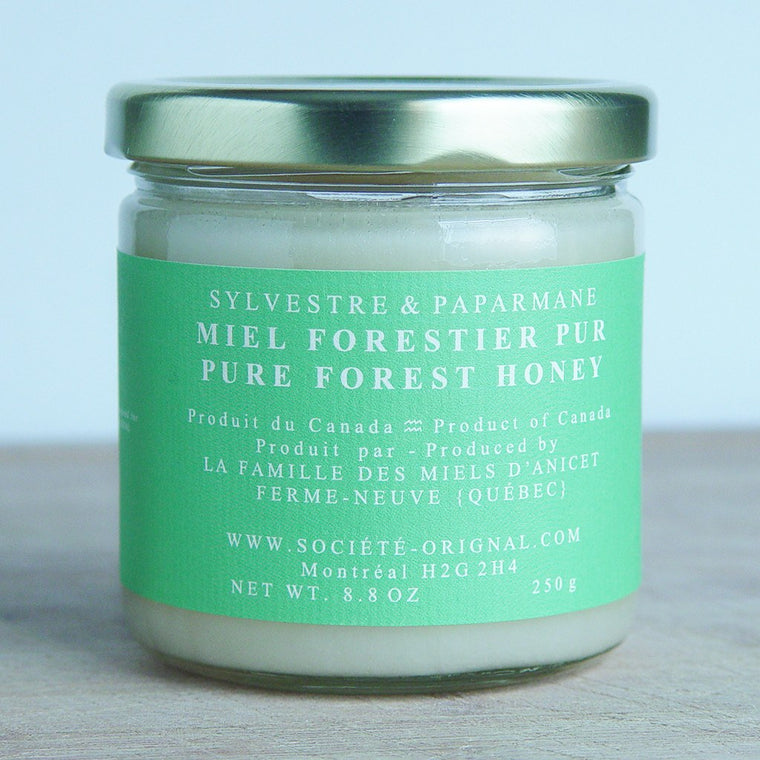 Sylvestre and Paparmane : Pure Forest Honey, 250g - SOLEX CATSMO FINE FOODS