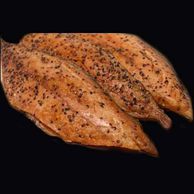 Smoked Mackerel Fillets, Peppered or Plain - SOLEX CATSMO FINE FOODS