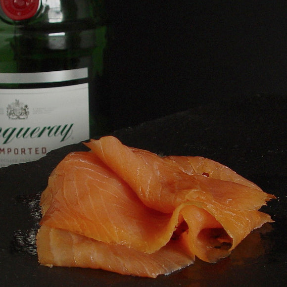 Catsmo Tanqueray Gin-Cured Smoked Salmon & Spices - SOLEX CATSMO FINE FOODS
