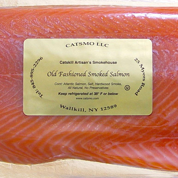 Catsmo Gold Label Smoked Salmon - SOLEX CATSMO FINE FOODS