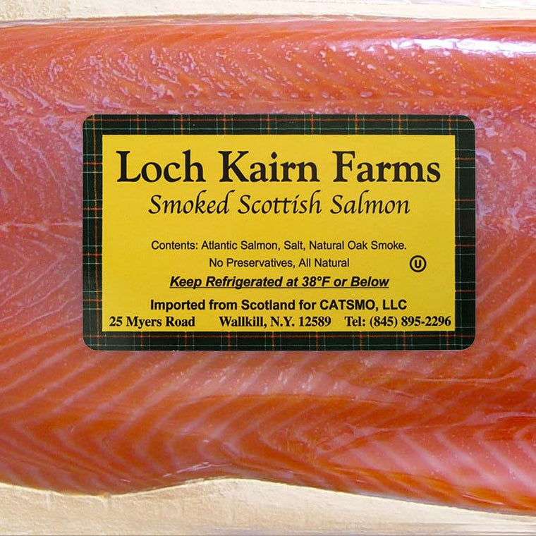 Catsmo Imported Loch Kairn Scottish Smoked Salmon - SOLEX CATSMO FINE FOODS