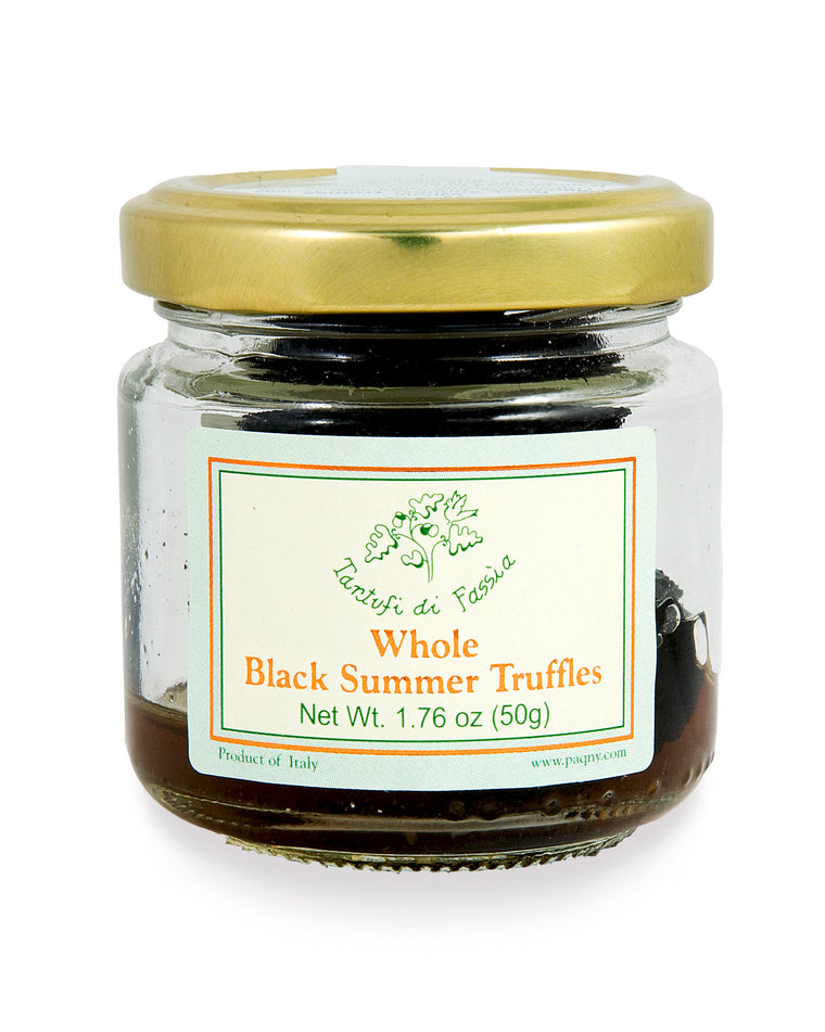 Whole Black Summer Truffles, 50g - SOLEX CATSMO FINE FOODS
