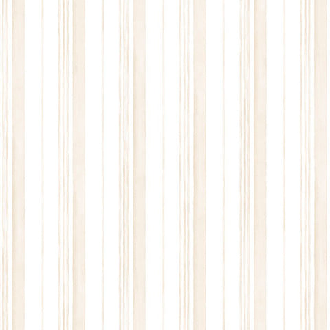Tan and White Stripe - AB27635