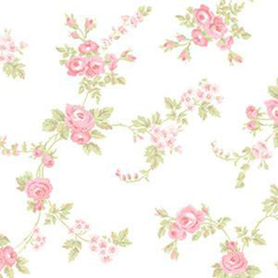 Chic Rose, Pink, Light Green Patton AB27658