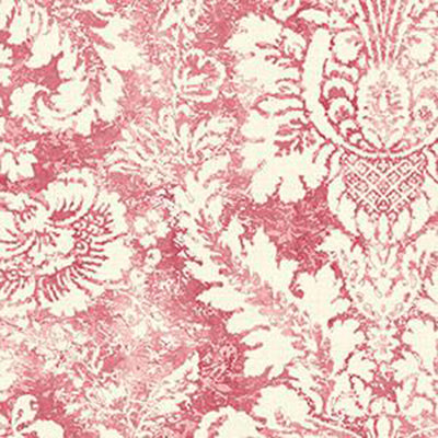 ValentIne Damask, Cream, Red Patton AB42423