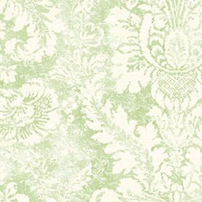 ValentIne Damask, Cream, Green Patton AB42428