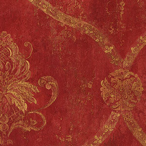Damask in Red and Gold - CS27328