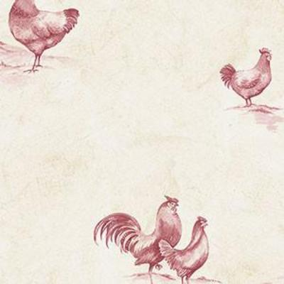Delft Chicken, Red, Cream Patton KE29931