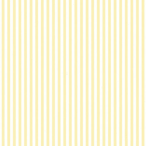 Narrow White and Yellow Stripe - PR33832