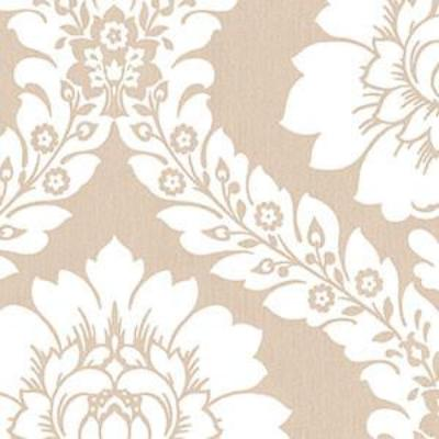 Daisy Damask, Taupe Patton SH34517