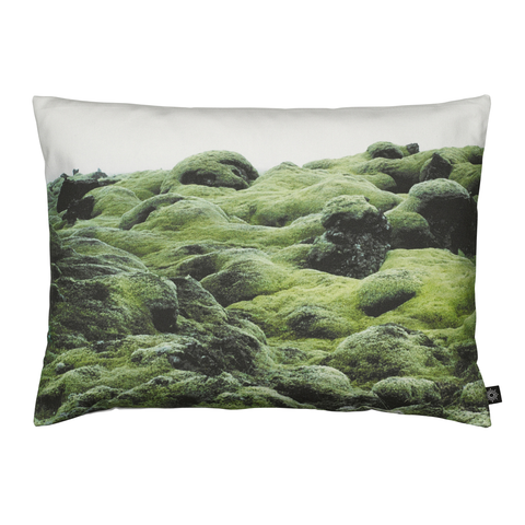 Moss on Lava Decorative Pillow