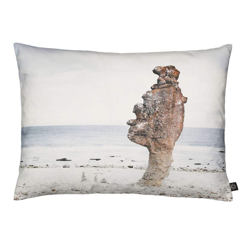 Beach Rock Decorative Pillow