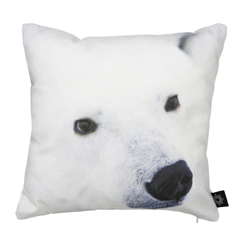 Baby Polar Bear Snout Kids Cushion