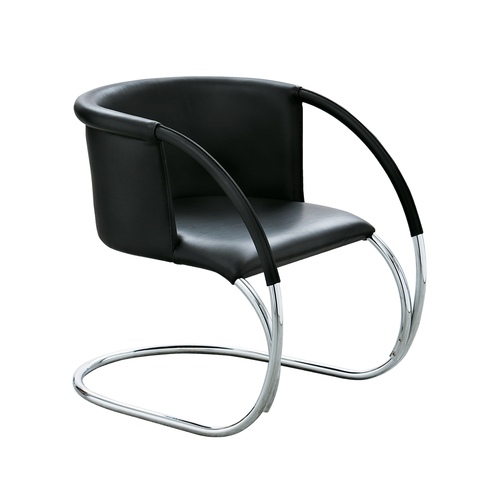 ML33 Leather Chair, Black/FREE SHIPPING