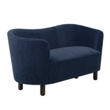 Mingle Compact Sofa NEW in Dark Navy 'Marimba'