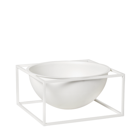 Kubus Bowl Centerpiece Large, White