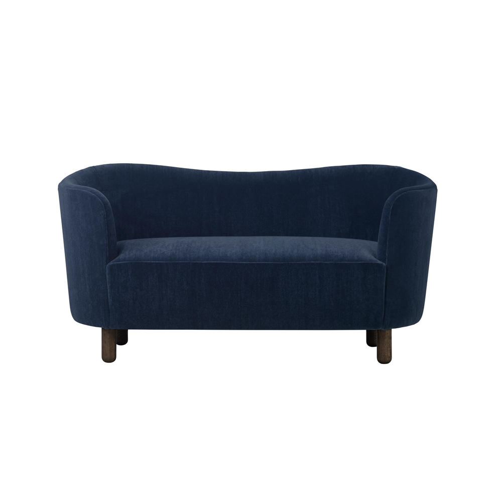 Mingle Compact Sofa In Dark Navy U0027Marimbau0027 ...