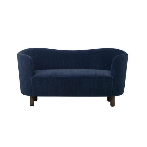 Mingle Compact Sofa in Dark Navy 'Marimba'