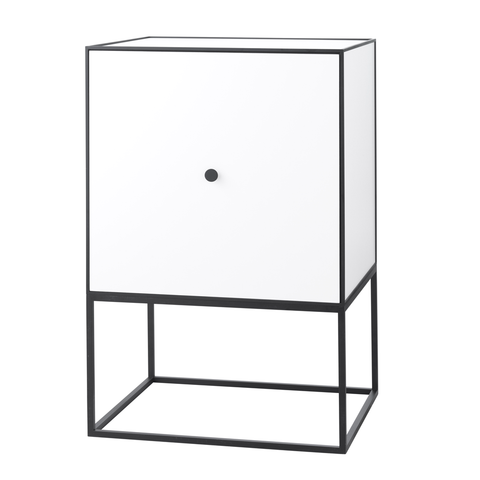 Frame 49 Sideboard with Shelf, White/FREE SHIPPING