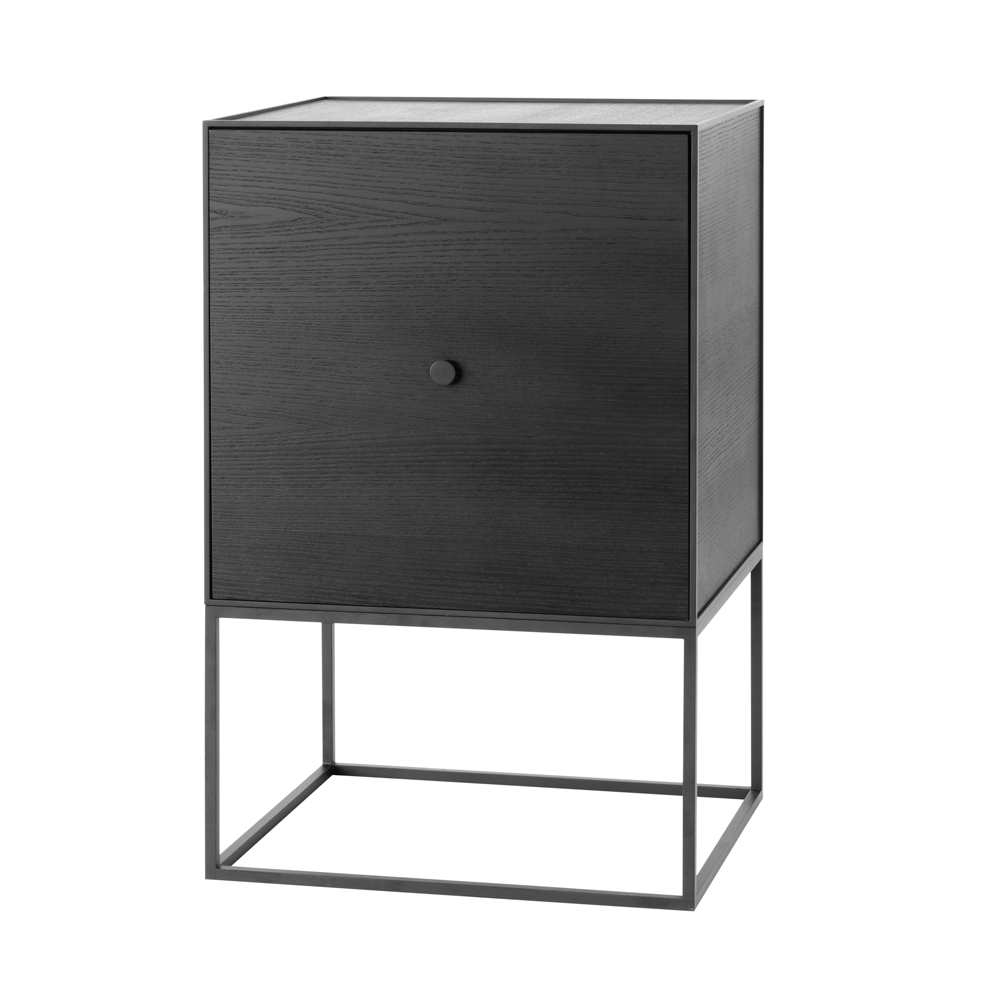 Frame 49 Sideboard with Shelf, Black/FREE SHIPPING