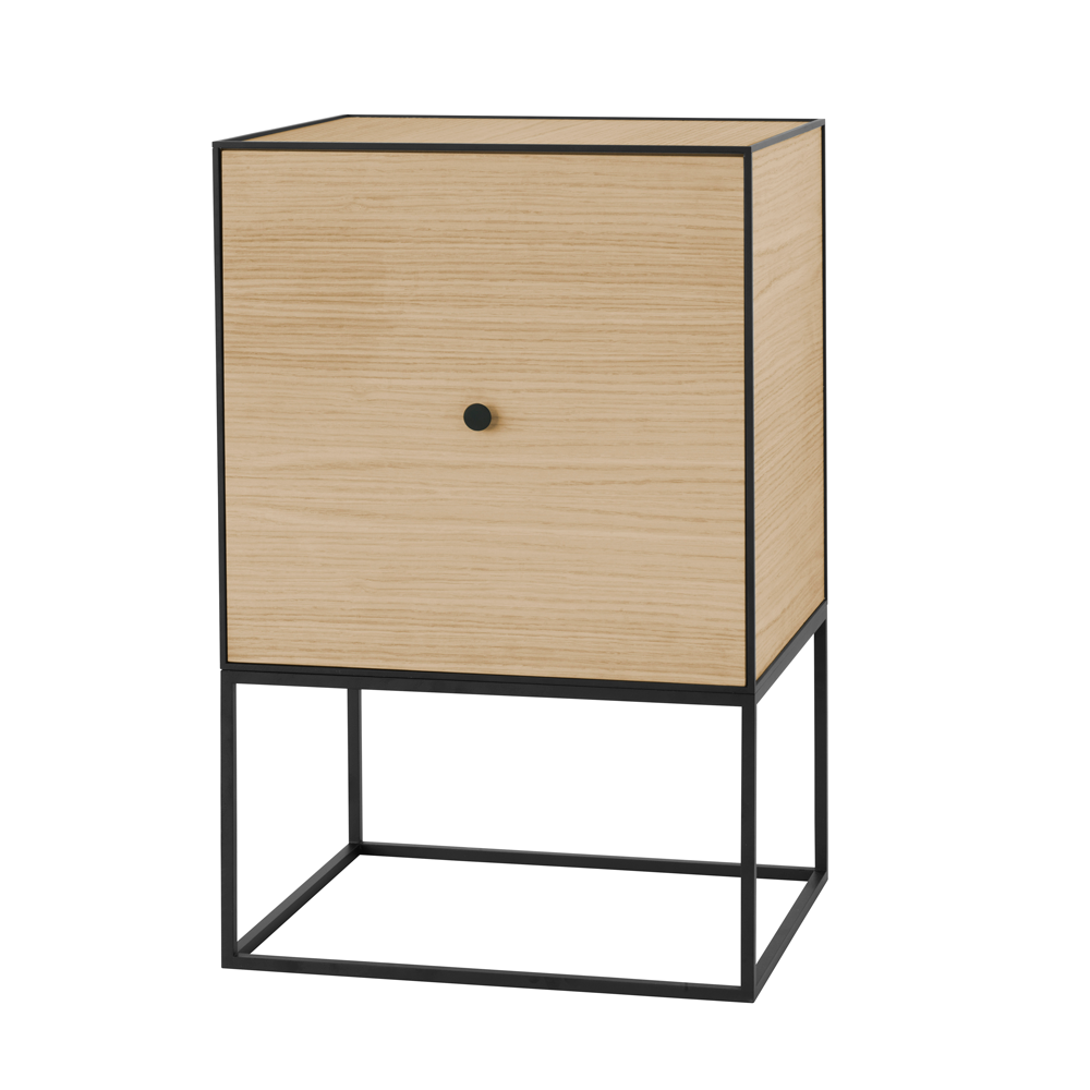 Frame Sideboard with Shelf, Oak/FREE SHIPPING