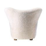 SPECIAL OFFER ON ORDERS PLACED BEFORE 12/31: Tired Man 'Moonlight' Sheepskin incl. Footstool