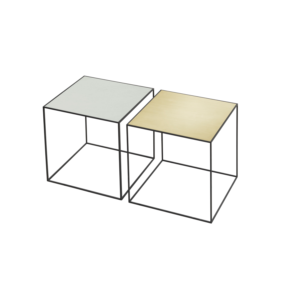 "Twin Very Versatile Table 16.5"" x 16.5"" [42 x 42 cm] 4 COLOR COMBOS"