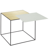 "Twin Very Versatile Table 13.8"" x 13.8"" [35 x 35 cm] 3 COLOR COMBOS"