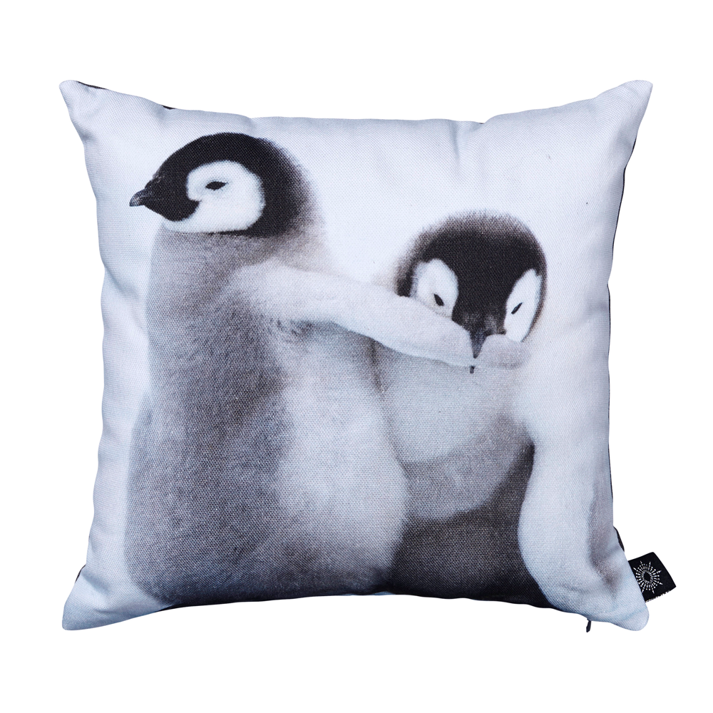 Baby Penguins Playing Kids Cushion